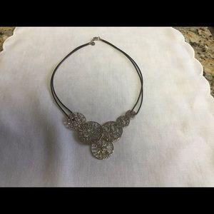 Silpada Filigree Art Necklace